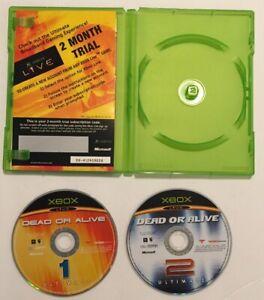 Dead or Alive Ultimate 1 & 2 (Microsoft Xbox, 2004)
