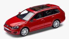 NEW GENUINE VW GOLF MK7 ESTATE TORNADO RED 1:43 SCALE DIECAST MODEL CAR