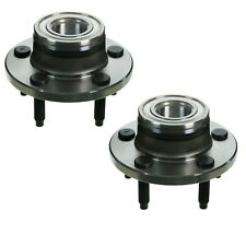 Pair Set 2 Front Moog Wheel Bearing Hub Kit for Ford Mustang 2005-2009 No ABS