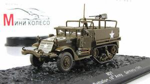 Scale model tank 1:72 M21 Halftrack, 1945