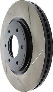 StopTech For 07-17 Infiniti / Nissan Sport Brake Rotor Front Left - 126.42099SL