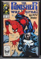 "The Punisher War Journal #15 Comic Book Cover 2"" X 3"" Fridge Magnet. Spider-Man."