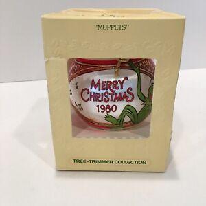 Vintage 1980 Hallmark Muppets Satin Unbreakable Christmas Ornament