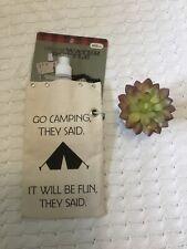 Sassy Canvas Expedition Water Spirits Bag Camping Hiking NWT 25 Oz Gift
