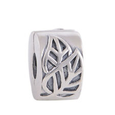 Genuine Sterling Silver CLIP Charm or STOPPER Charm for Sterling Silver Charms