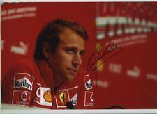 Luca Badoer Ferrari F1 Test Driver Portrait Signed Photograph 1