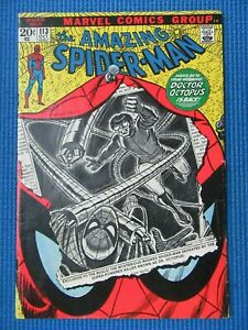 AMAZING SPIDER-MAN # 113 - (VG) - 1ST APP OF HAMMERHEAD,DR OCTOPUS,GWEN STACY