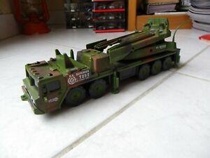 US Defender Military Port Missile 1/43? smart toys 1997 Toy Plastic