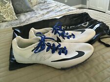 Nike Track & Field Rival S Womens Size 9 White Blue Black