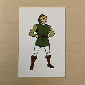 Mike Mitchell SUPER Link Print Legend of Zelda
