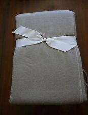 LUXURY HOTEL 100% Cashmere Collection Throw  50 in. x 70 in.   TAN  NWT