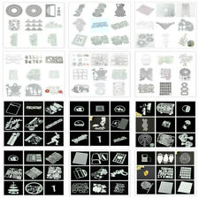 200 Cutting Dies Metal Stencil DIY Scrapbooking Embossing Paper Card Craft Die
