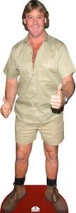 Steve Irwin 405 Cardboard Cutout