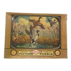 Tuco Interlocking Picture Puzzle 1957 TV Series Up And Away, Up To 301 Pieces