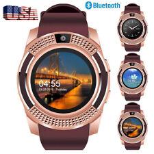 Bluetooth Smart Watch Phone For Men Women Boy Girls Android Samsung S10e S9 S8