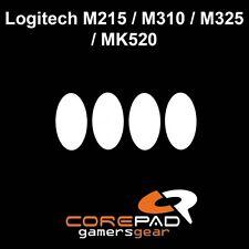 Corepad Skatez Logitech m215 m310 m325 mk520 De Rechange PTFE Teflon ® Téflon