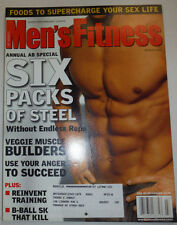 Men's Fitness Magazine Six Packs Of Steel & Veggie Builders March 2001 030615R