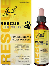 New listing Rescue Remedy Natural Homeopathic Stress Relief Drops For Pets, 20 ml