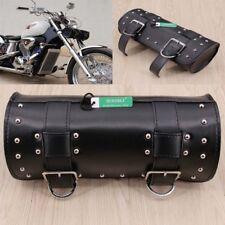 Moto Réparation Outil Rouleau Sac Avant Fourche Guidon Sacoche de Selle Harley