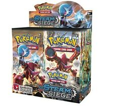 Pokemon TCG x9 Booster Packs XY Steam Siege 1/4 Booster Box Unsearched SKU#153