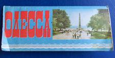 1979 Odesa Tourist Plan Map Scheme Streets Travel Odessa Russian Soviet Ussr