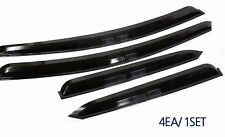 Plastic Sun Rain Smoked Door Visor 4pcs 1set For Hyundai Sonata 2005 2009