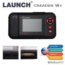 Launch X431 Creader VII+ Diagnostic Tool OBD2 Code Scanner Engine ABS Airbag SRS