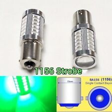 Strobe 1156 P21W 7506 33 LED Projector Green Backup Reverse B1 For Euro cars