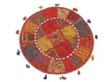 Comfy Floor Seating Pillow Cover Living Room Big Round Handmade India Cushion