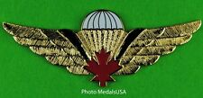 CANADIAN Airborne Army Paratrooper Jump Wing CANADA