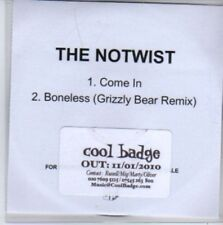 (BB57) The Notwist, Come In - DJ CD