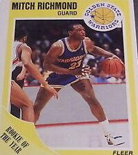 Golden State Warriors Original Basketball Trading Cards Lot
