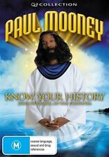 Paul Mooney - Know Your History (DVD, 2009)-REGION 4-Brand new-Free postage
