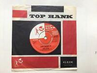 "JOHN LEYTON:""JOHNNY REMEMBER ME"".1961 TOP RANK.UK #1 HIT,JOE MEEK. EX+ 7"" Single"