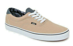 Vans Era 59 (Canvas & Leather) Khaki/Camo Skate Shoes