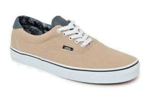 Vans Era 59 (Canvas & Leather) Khaki/Camo Skate Shoes