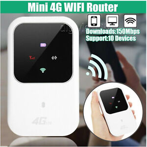 Unlocked 4G-LTE Mobile Broadband WiFi Wireless Router Portable MiFi Hotspot UK