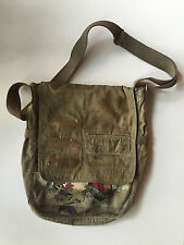 TRIPLE FIVE SOUL vintage distressed satchel handbag 1989 New York City