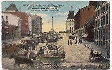 Montreal; Bonsecours Market, On Jacques Cartier Square PPC, 1917 PMK To GB