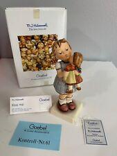 "M. I. Hummel Figurine - ""Kiss Me"" # 805 Hum 311 Goebel Germany 6"" - With Box"