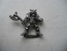 Citadel Warhammer Classic 80s Chaos Warrior AG fuori catalogo
