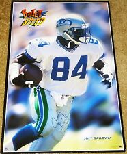JOEY GALLOWAY OHIO STATE SEATTLE SEAHAWKS HAND SIGNED AUTOGRAPHED POSTER! W/ COA