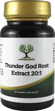 90 Thunder God Vine Root 20:1 200mg Capsules Tripterygium Wilfordii Extract