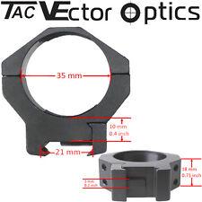 Vector Optics Tactical Mark anillos de alcance 35mm Picatinny montaje ajuste Schmidt Bender