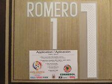 ROMERO (WHITE) Argentina #1 Name Number Professional (WHITE)
