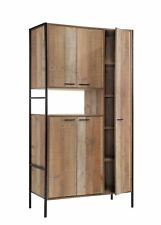 Stretton Kitchen Dining Room Display Drinks Larder Cabinet Cupboard Rustic