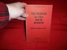 Murder in the Red Room- Elliott Roosevelt, Uncorrected Proof, 1992