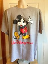 VINTAGE WALT DISNEY WORLD MICKEY MOUSE T SHIRT LARGE (MEASURES AS AN XL)