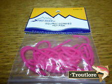 Spirit River Squirmy Wormies Hot Pink Worm Body - Fly Tying Materials