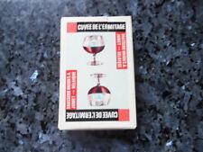 ancien jeu de carte publicitaire cuvée de l'ermitage